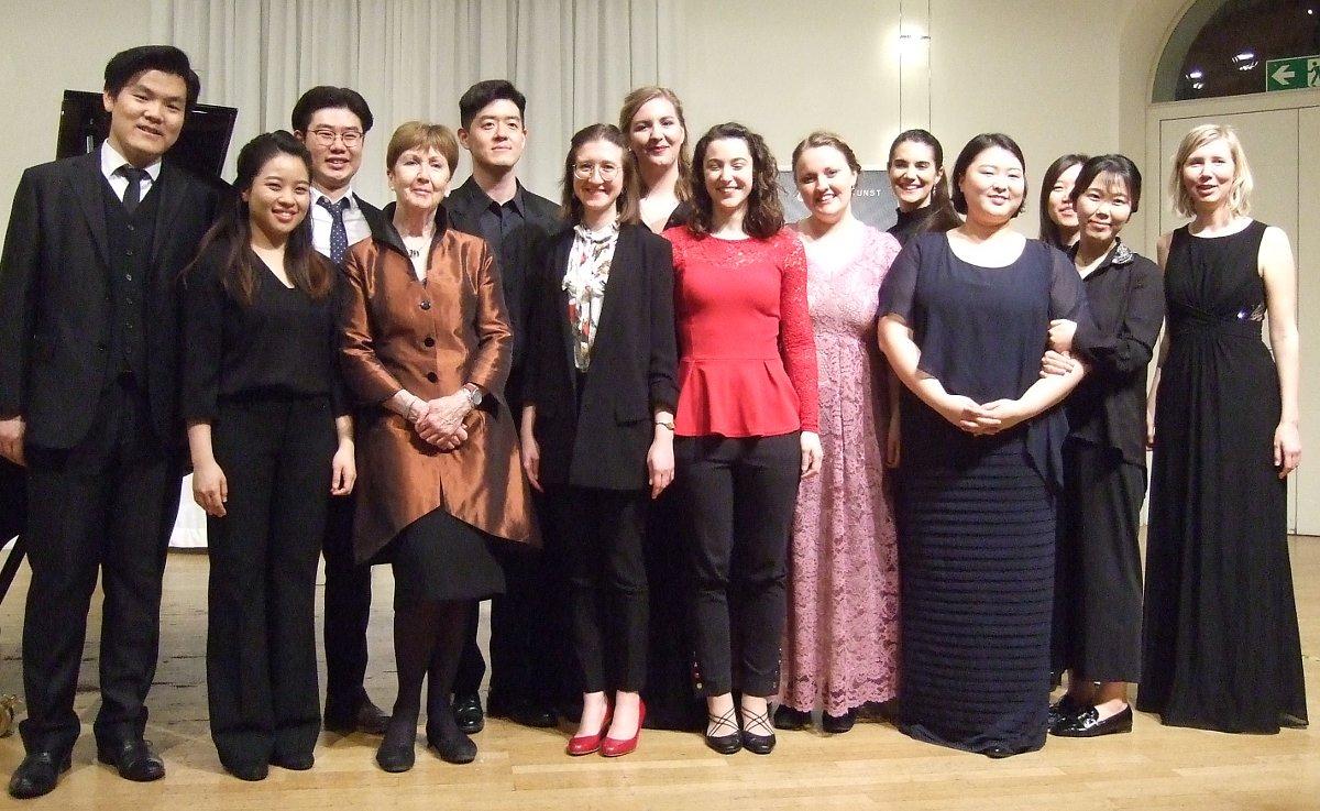Ann Murray: Abschlusskonzert am 28. März 2019. Foto: Riemschneider-Stiftung
